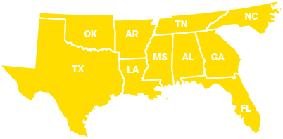 B and B Licensed States